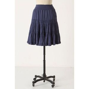 Edme & Esyllte Black smocked Waist petticoat skirt